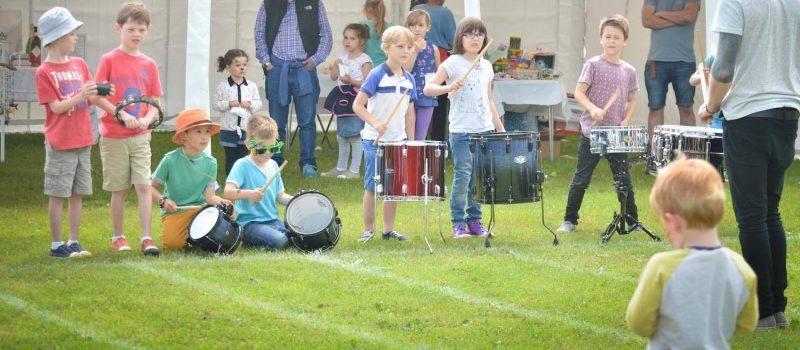 Drumming Display